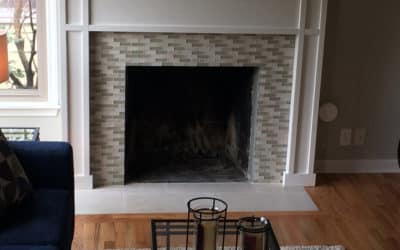 Custom Built Mantel