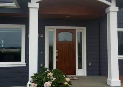 Front Door, Siding, and Soffit